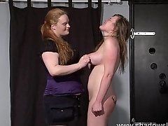Taylor Hearts bizarre lesbian humiliation and boot licking submission be beneficial to spanked