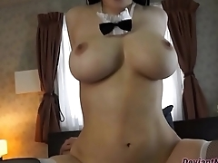 Busty Asian Maid Riding As a result Sexy