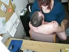 4543935 my fat bbw horny secretary riding my load of shit with an increment of loves my cum