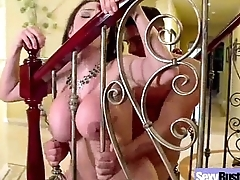 Busty Wife Make the beast with two backs On Camera (ariella ferrera) clip-08