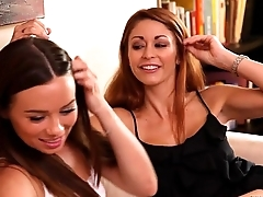 Capri Anderson and Monique Alexander lesbian fun