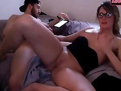 Horny and Hot Couple Doing Homemade Anal Porn