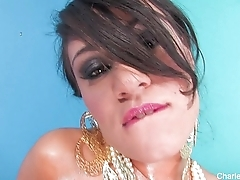 Charley Chase Oiled Appear c rise Pearls