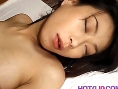 Yuka Takahashi arouses man and is fucked