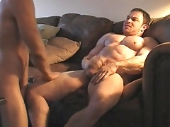 Musclegod dominates and fuck muscle twink