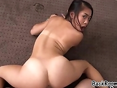 Amature Shagging Her Casting Porn Agent In The BackRoom