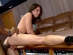 Mature Lady Scenic route Hard Long Ebon Dick (angel) clip-02