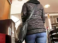 Sexy Hot Pickup Girl Suck Flannel In Public Place 10