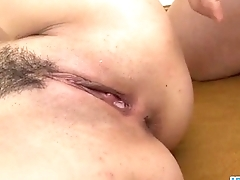 With two cocks in her holes Ryu Enami screams be incumbent on pleasure