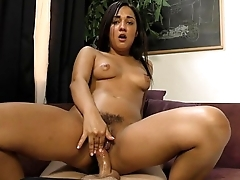 Amara Romani teasing with her pussy