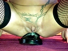 Annabelle Dangel extrem giant plug in ass world record anal insertion