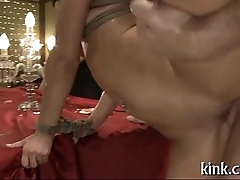 Taking hot sweetheart gets punished