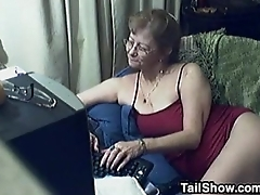 Sizzling Grandmother Chats