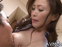 Marketable oriental mother i'_d ask preference to fuck enjoys cock
