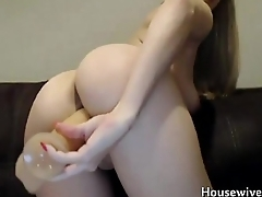 Magnificent busty blonde girl next ingress Cindy enjoys DP