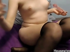Barely legal 18 Rose Blossom penetrates a little vagina