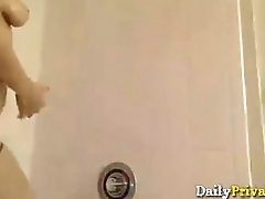 Insatiable athletic nefarious Jade takes a shower