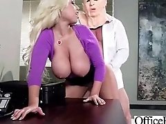 Horny Girl  With Big Juggs Banged With respect to Office vid-03