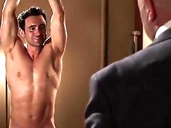 Allan Hawco - Sexy naked man forced in the matter of strip &amp_ tied up