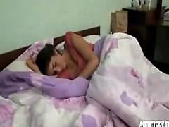 Sleeping teen suckle enjoying morning sex with brother HotGirlsX.Net