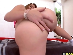 Redhead Rose In flames Tyrell Gets Anal Banged