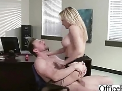 Sex Tape With Broad in the beam Tits Slut Girl In Office vid-13