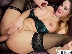 Sex Tape With Big Tits Slut Girl In Office vid-09