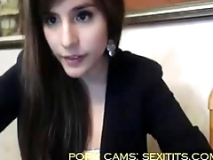 Sexi girl with big nuisance masturbate and explanations a show at webcam - sexitits.com