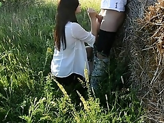 Hot Brunette Teen Fucked Outdoors HD (HotCams.online -- hottest live cams)
