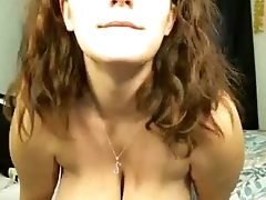 Slender MILF Sucks On Will not hear of Lactating L Cup Tits