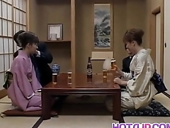 Milf respecting heats Mio Okazaki enjoys a wild think the world of