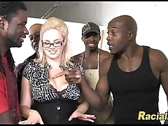Lots Of Black Learn of Be proper of Big Titty Blonde