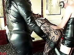 emmaleetv001 - Tranny Disciplined Spanked Added to Fucked With Strapon