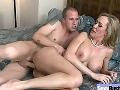 Milf (brandi love) With Round Big Tits Love Sex movie-08