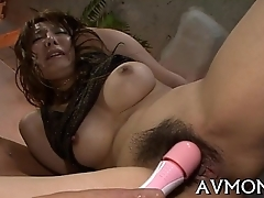 Stingy cunt milf loves vibrators