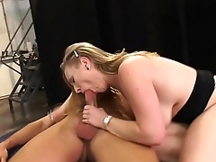 Horny Milf Banged In Garage