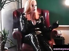 Latex and 10 Inch Swine Smoking, Free Webcam Porn Video ea
