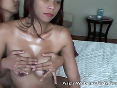 Asian Filipinas AsianWebcamGirls.Com butch oil massage tits
