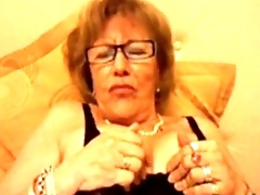 Granny band together from Argentina helps me oft-times 18CAMS.CO