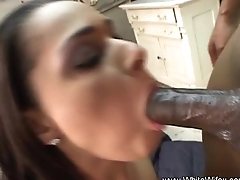 White Housewife Tries Black Cock