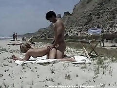 Bystanders Watch Couple Have Sexual relations On The Littoral