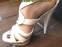 The extreme Miss Laurie savage high heels unmodifiable punishement