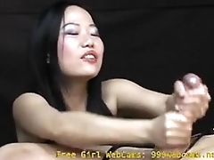 Asian Girl Gives an Intense Hand Job You Will Never Forget!  - 999webcams.net