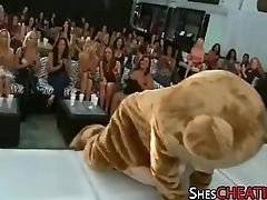 Dancing-Bear Around BigCock Gets Oral-Sex At Bachelorette Party