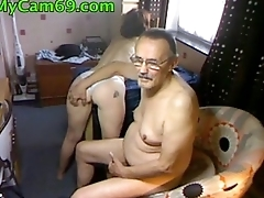 Elderly Couple Diana Winter On Webcam - mycam69.com