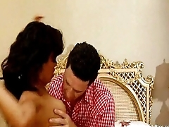 Latina Sister Lets Brother Lend A Load