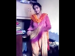 Bangladeshi Bhabi  Impetuous sex will not hear of Dabor on Adultstube.co