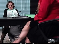 Big-tit latina boss fucks employee'_s hard-dick in office 15