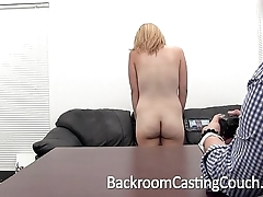Barracuda Assfucked and Creampie on Casting Couch