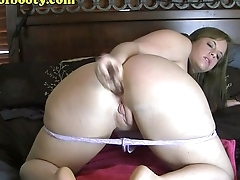PAWG Virgo Peridot stretchin out their way asshole